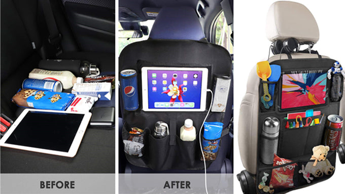 How to travel easily with a lot of items in car?