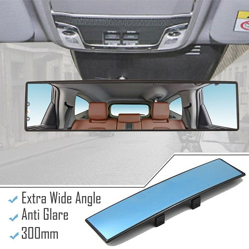 Car Rear View Mirror, Reduce Blind Spot Effectively, 12 Inch - E-Geek