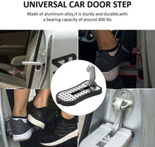 Load image into Gallery viewer, Car Door Step Pedal, Easy Access to Rooftop for Truck SUV Jeep Off-Road, Silver - E-Geek