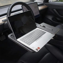Load image into Gallery viewer, Car Desk Steering Wheel Tray, Auto Desk Coffee Holder Support Lunch Laptop, Gray - E-Geek