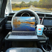 Load image into Gallery viewer, Car Steering Wheel Desk, Notebook Laptop Eating Desk - E-Geek