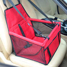Load image into Gallery viewer, Pet Dog Car Seat Cover with Safety Belt, Cat Carrier Protector for Outdoor Traveling - E-Geek
