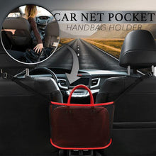 Load image into Gallery viewer, Car Net Pocket Handbag Holder, Barrier of Backseat Pet Kids - E-Geek
