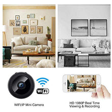 Load image into Gallery viewer, Mini Dash Cam, Smart Motion Detection, Instant Push Notifications, White - E-Geek