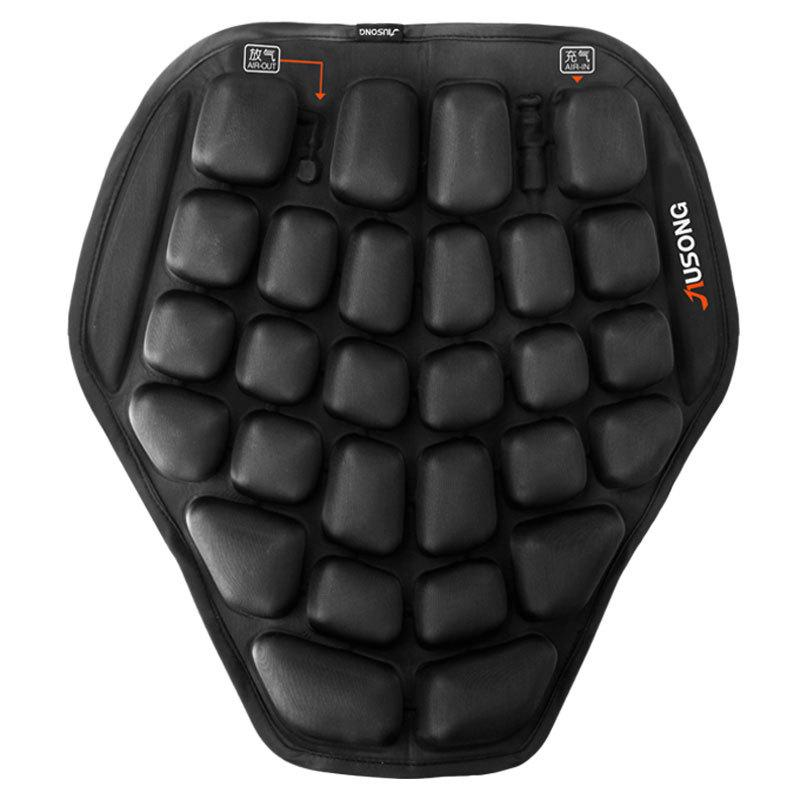 3D Hand-press Air Breathable Seat Cushion for motorcycle, Black - E-Geek