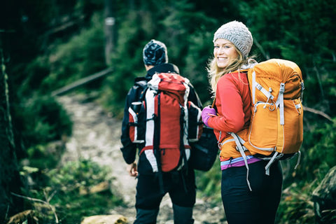 hiking with backpacks pain free