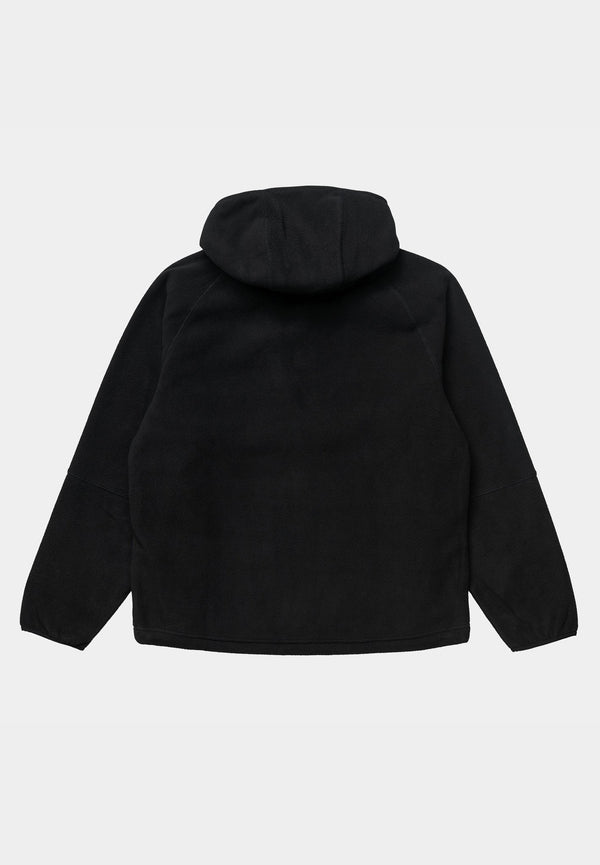 Hooded Beaumont Half Zip Sweat