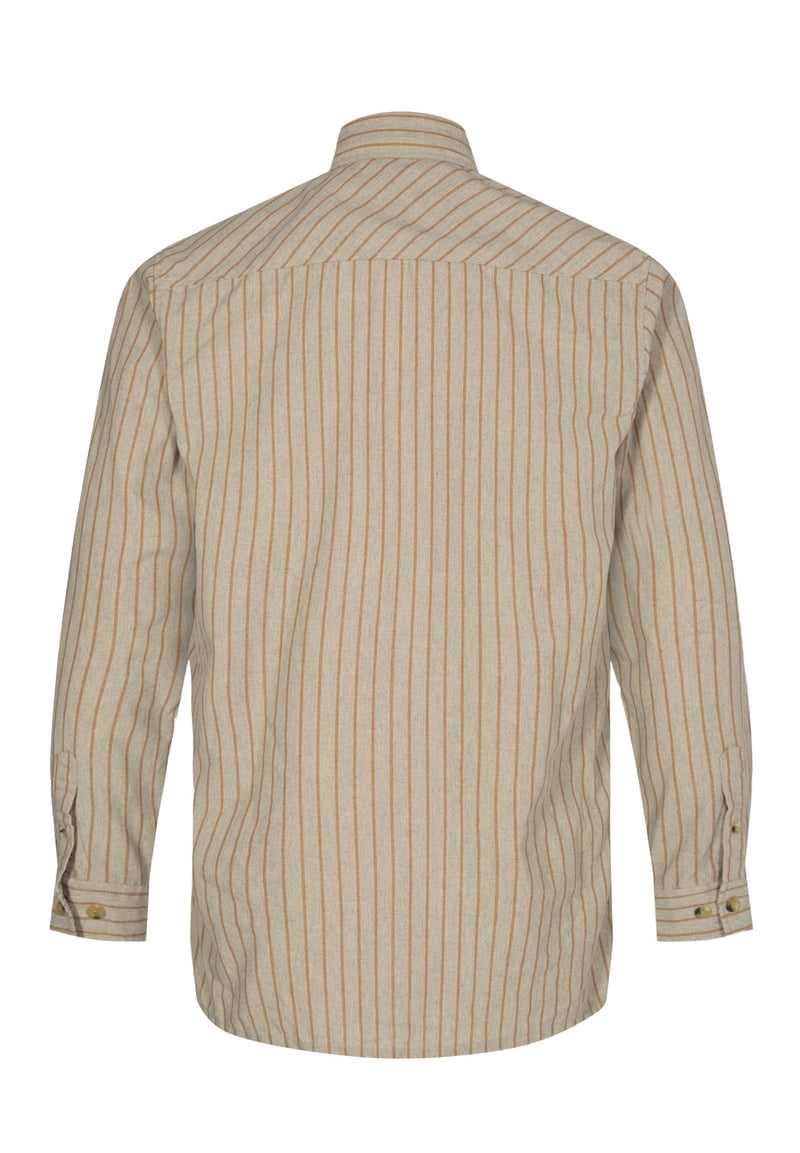 ANERKJENDT-Lenny LS Cotton Stripe Shirt - BACKYARD