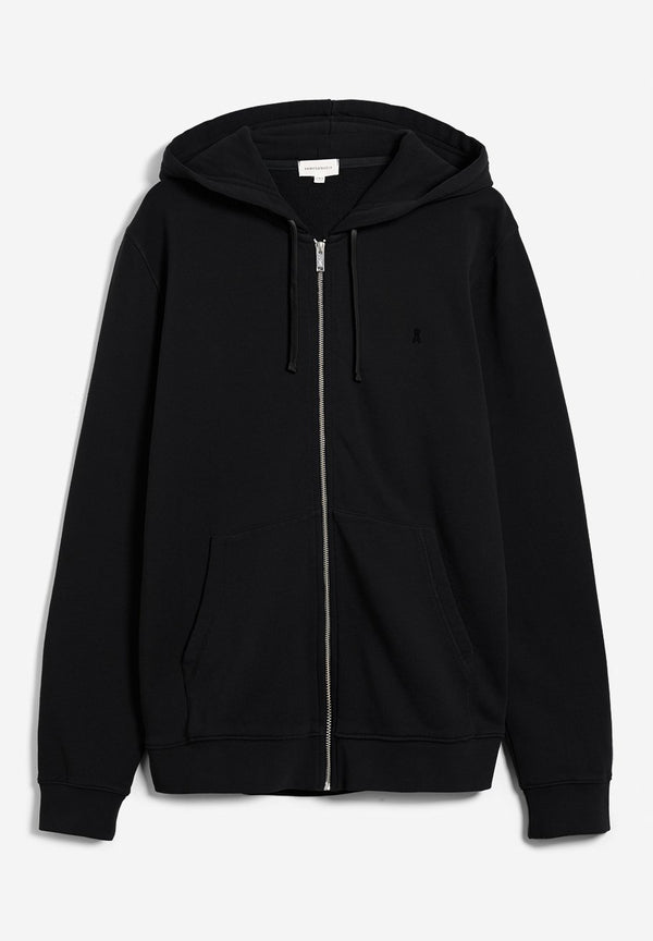 ARMEDANGELS-Zaac Hooded Sweat Jacket - BACKYARD