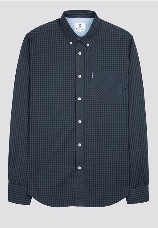 BEN SHERMAN-LS Core Gingham - BACKYARD