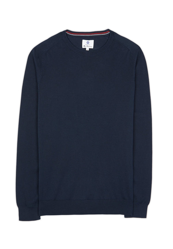 BEN SHERMAN-Signature Cotton Crew - BACKYARD