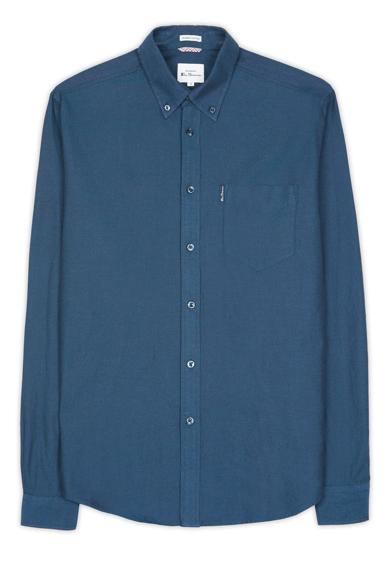 BEN SHERMAN-Signature GOTS Organic Oxford Shirt - BACKYARD