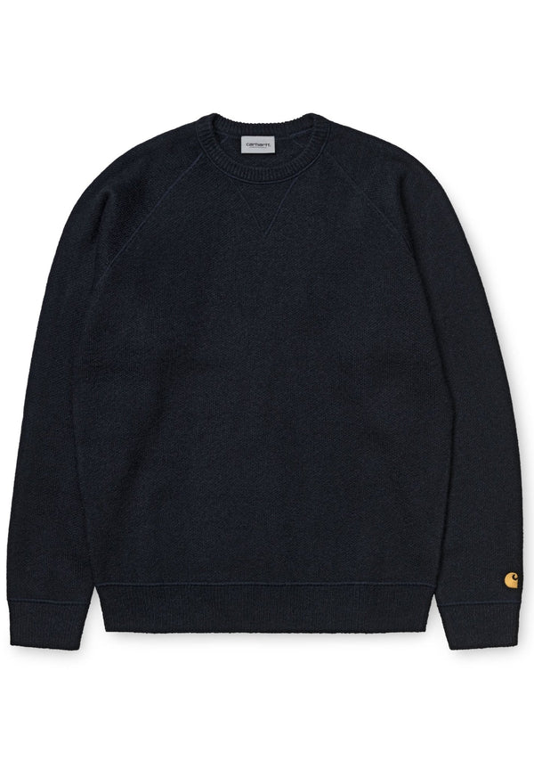 CARHARTT WIP-Chase Sweater Wool - BACKYARD