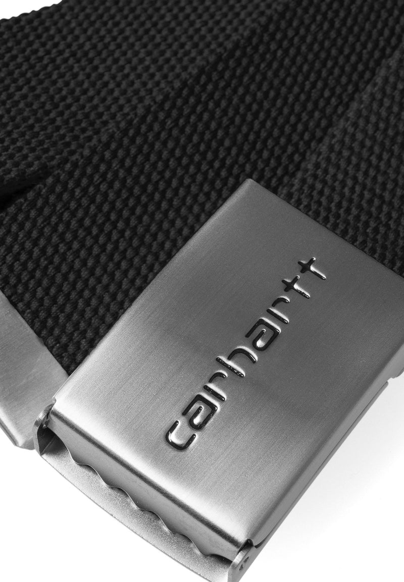 CARHARTT WIP-Clip Belt Chrome - BACKYARD