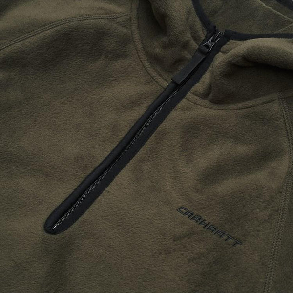 CARHARTT WIP-Hooded Beaumont Half Zip Sweat - BACKYARD