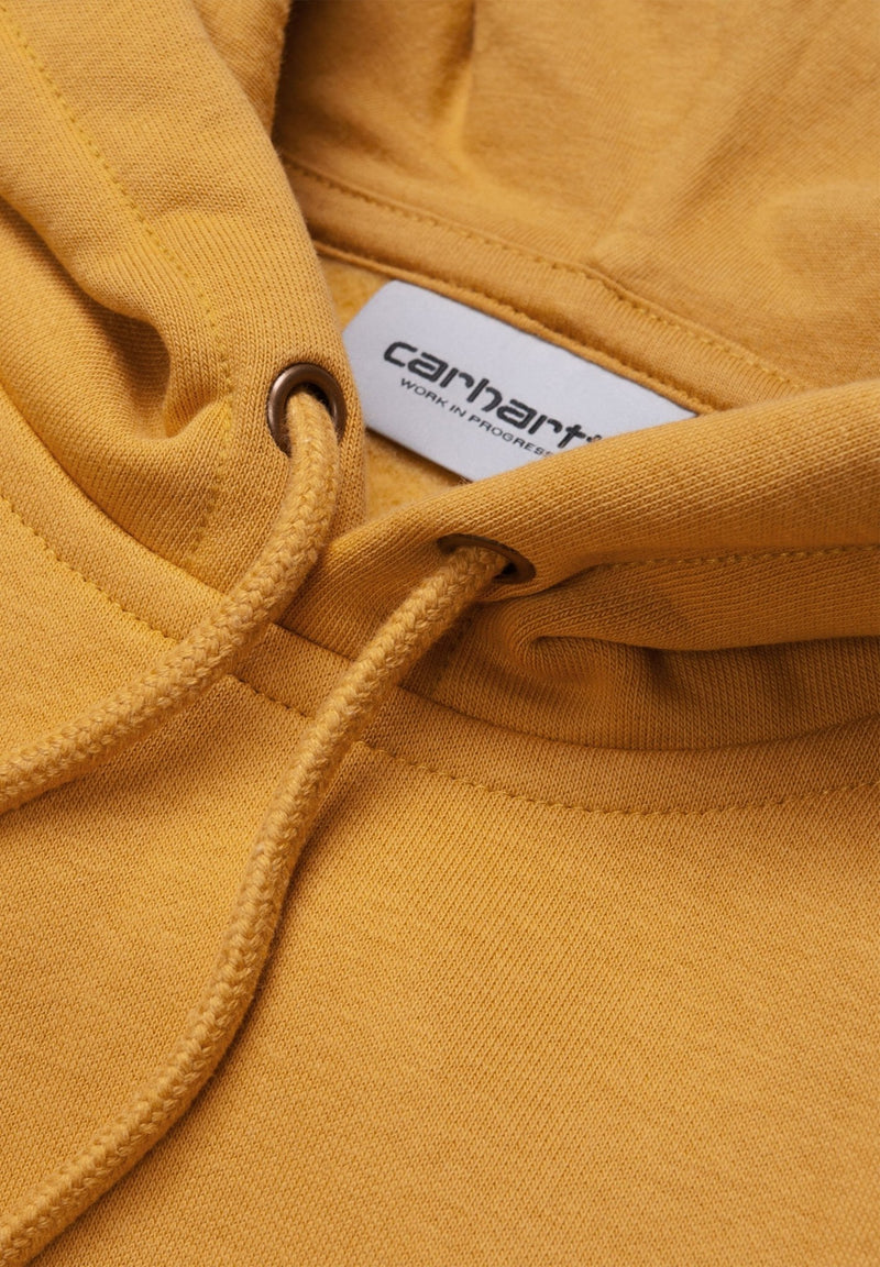 CARHARTT WIP-Hooded Chase Sweatshirt - BACKYARD