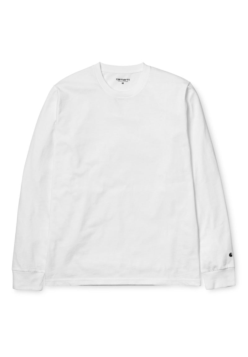 CARHARTT WIP-L/S Base T-Shirt - BACKYARD