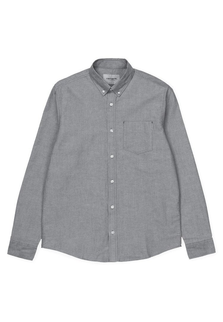 CARHARTT WIP-L/S Button Down Pocket Shirt - BACKYARD