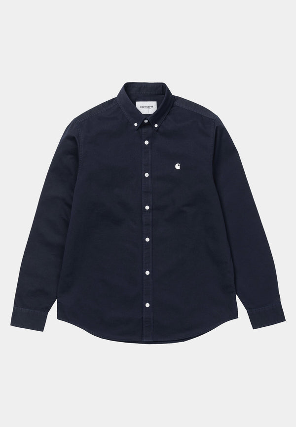 CARHARTT WIP-L/S Madison Shirt - BACKYARD