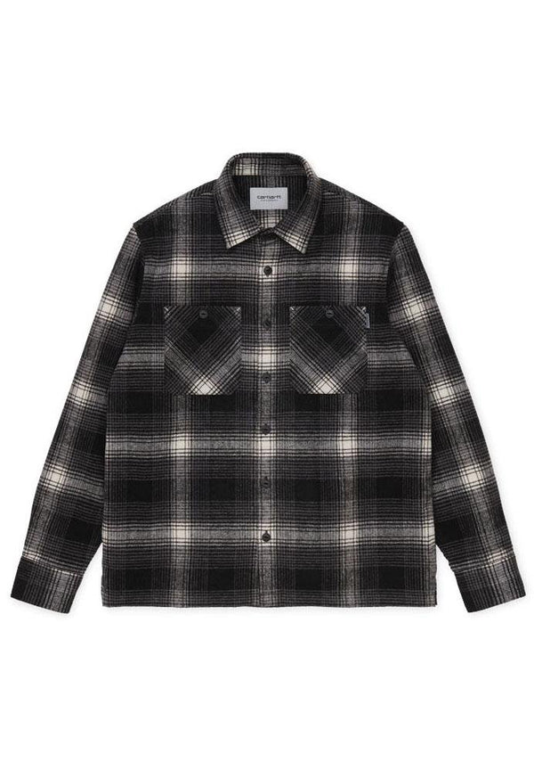 CARHARTT WIP-L/S Nigel Shirt - BACKYARD