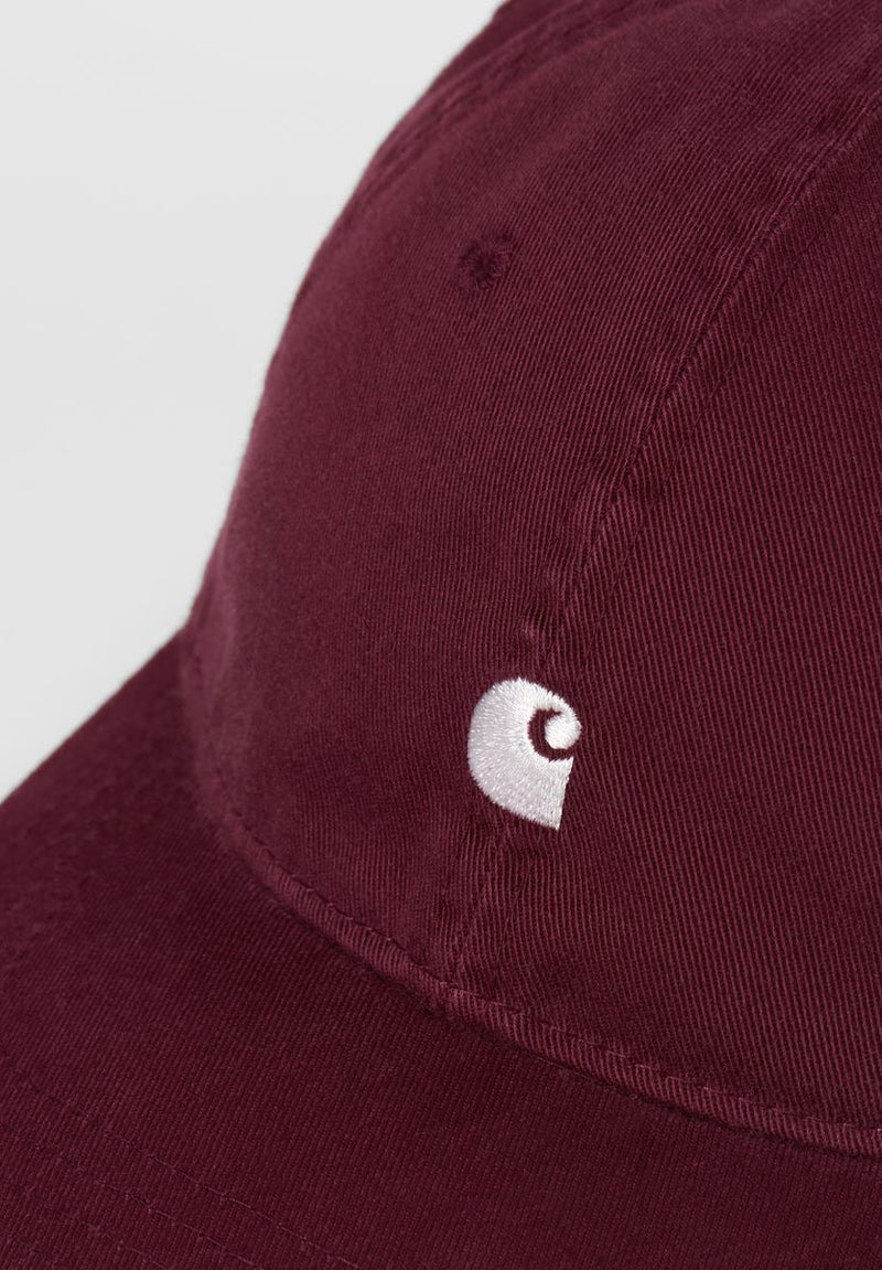 CARHARTT WIP-Madison Logo Cap - BACKYARD