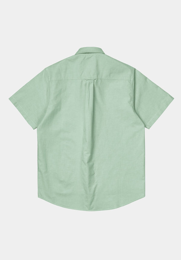 CARHARTT WIP-S/S Button Down Pocket Shirt - BACKYARD
