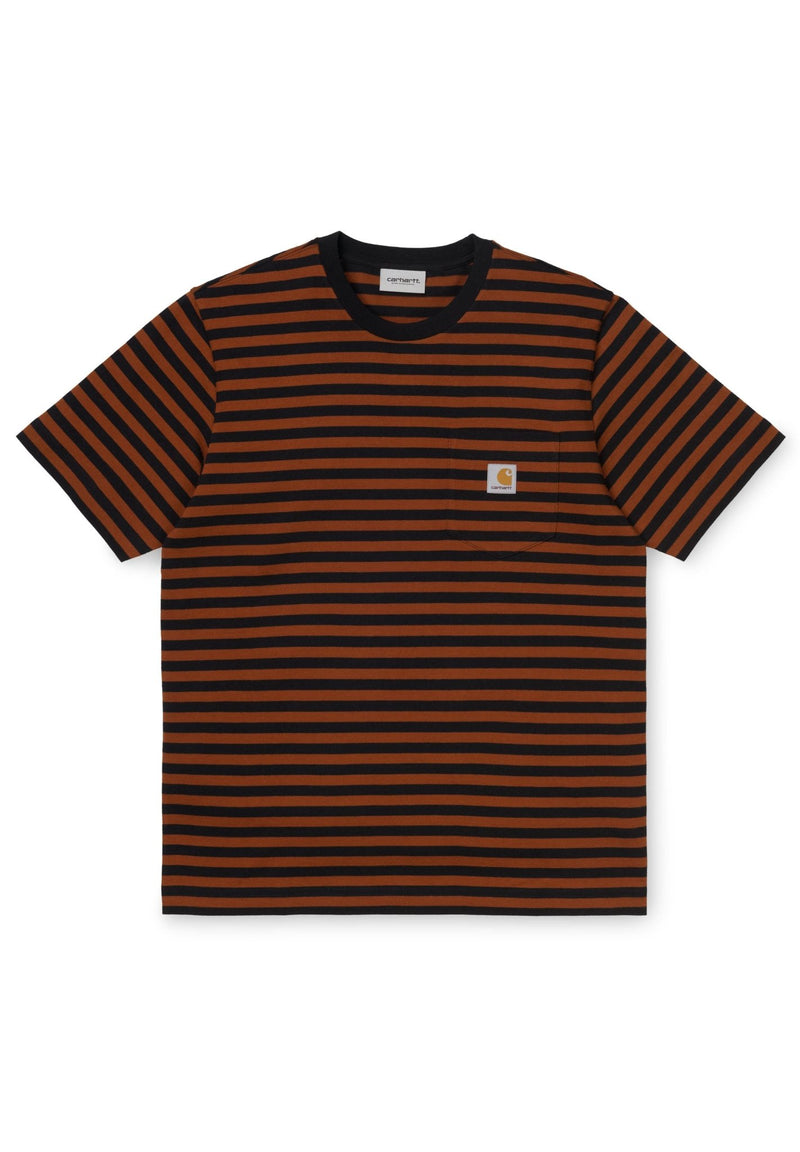 CARHARTT WIP-S/S Parker Pocket T-Shirt - BACKYARD