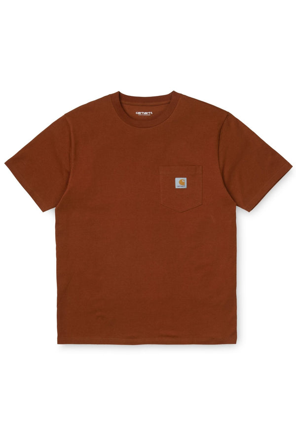 CARHARTT WIP-S/S Pocket T-Shirt - BACKYARD