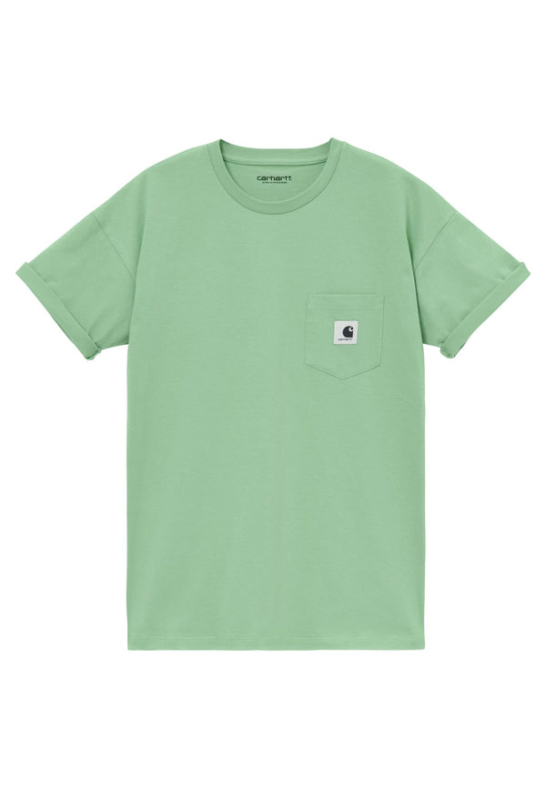 CARHARTT WIP-W' S/S Pocket T-Shirt - BACKYARD