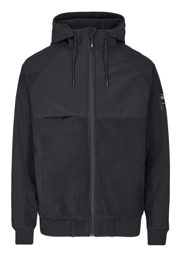 CLEPTOMANICX-Ally Polarzip Jacket - BACKYARD