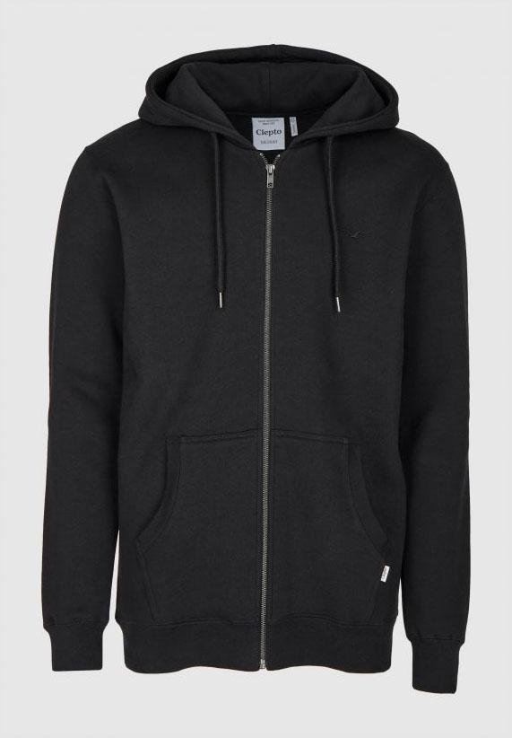 CLEPTOMANICX-Ligull Heavy Hooded Zip - BACKYARD