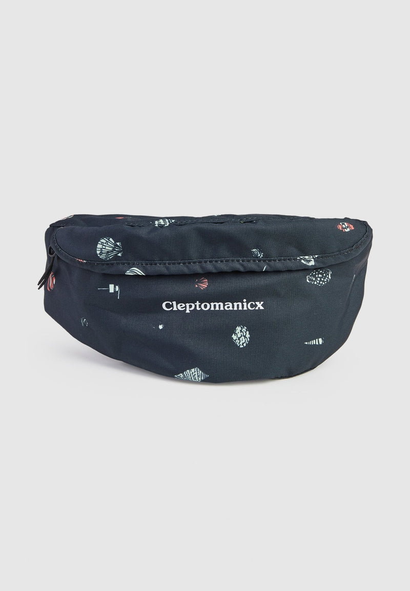 CLEPTOMANICX-Mega Pattern Hipbag - BACKYARD