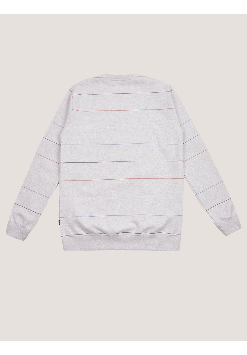 CLEPTOMANICX-Multistripe Sweat - BACKYARD