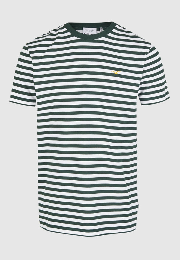 CLEPTOMANICX-Stripe Tee - BACKYARD