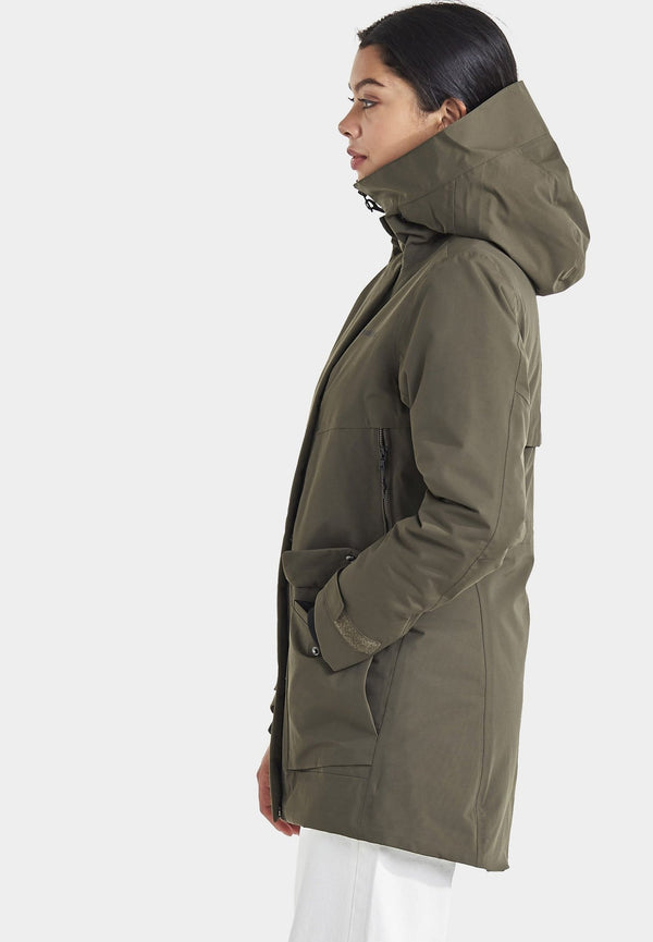 DIDRIKSONS-Frida Women's Parka - BACKYARD