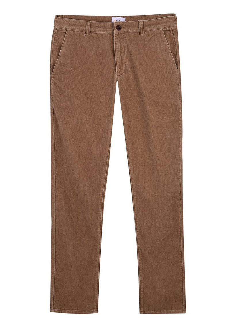 FARAH-Elm Stretch Cord Pant - BACKYARD