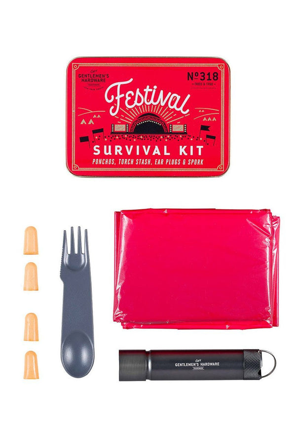 GENTLEMEN'S HARDWARE-Festival Survival Kit - BACKYARD