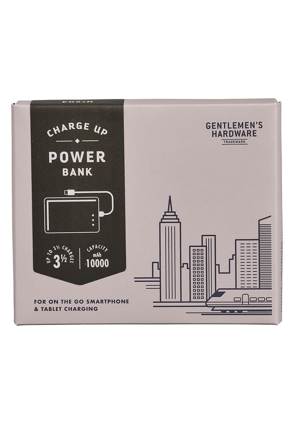 GENTLEMEN'S HARDWARE-Power Bank - Take Charge 10000mAh - BACKYARD