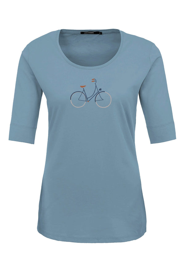 GREENBOMB-Bike Femme Longsleeve - BACKYARD