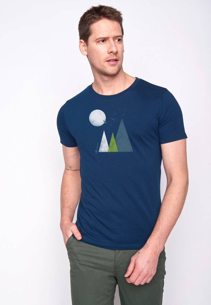 GREENBOMB-Nature Hills T-Shirt - BACKYARD