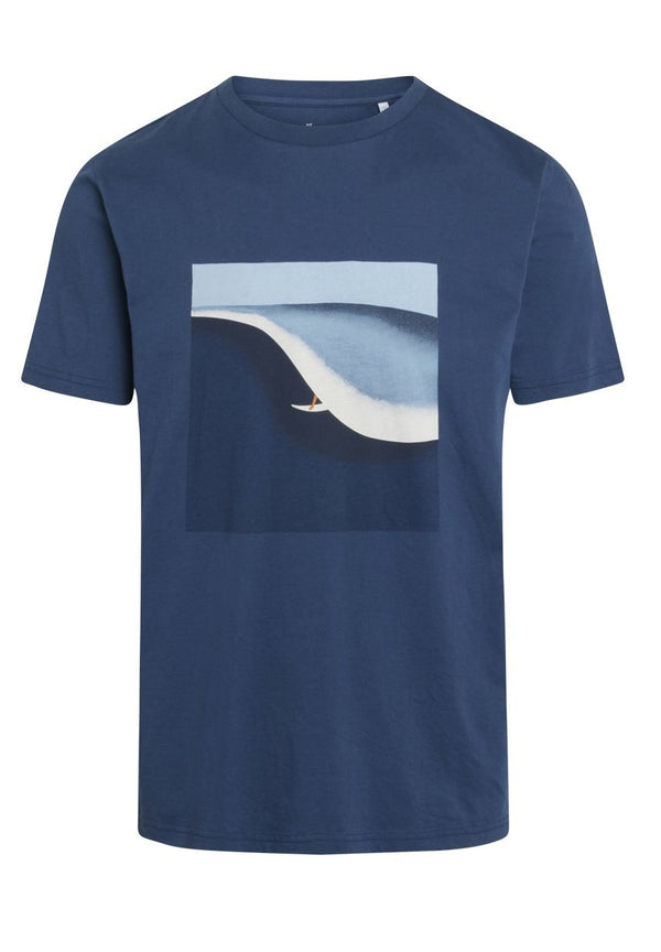 KNOWLEDGE COTTON-Alder Surf Tee - BACKYARD