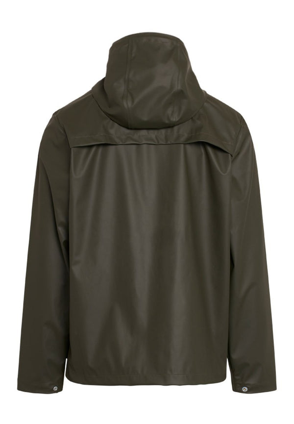 KNOWLEDGE COTTON-Lake Short Rain Jacket - BACKYARD