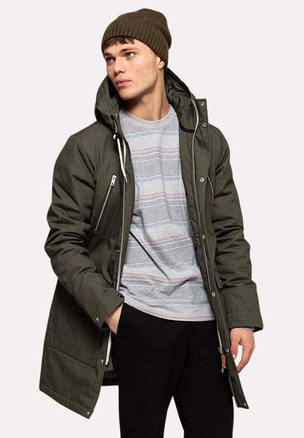 REVOLUTION-7687 Parka Coat - BACKYARD