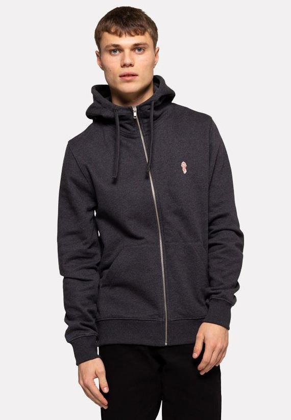REVOLUTION-Hooded Zip Jacket - BACKYARD