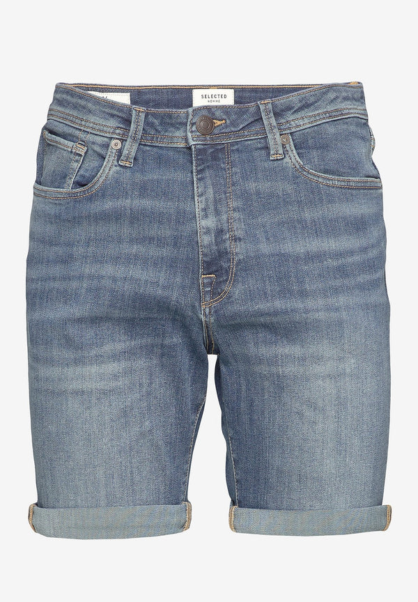 SELECTED HOMME-Alex Denim Shorts - BACKYARD