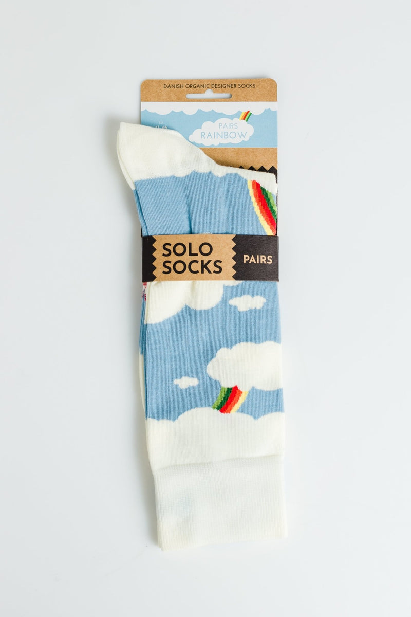 SOLO SOCKS-Rainbow Socks - BACKYARD