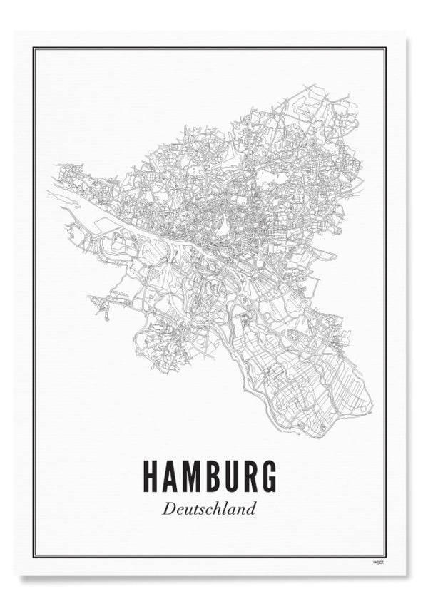 WIJCK-Hamburg Print A4 - BACKYARD