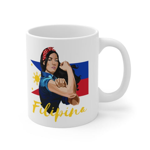 Filipina Flex - 11oz Mug Mug 11oz