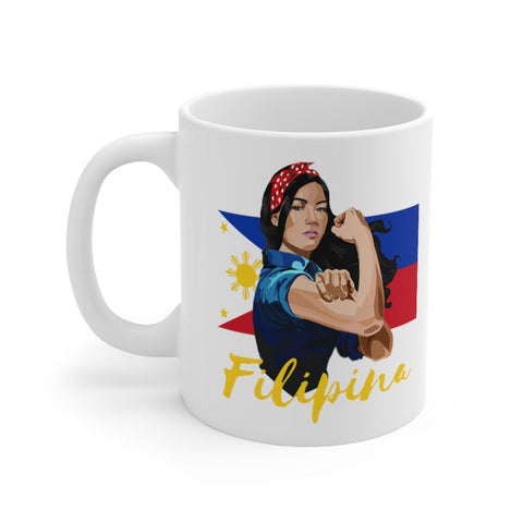Filipina Flex - 11oz Mug Mug