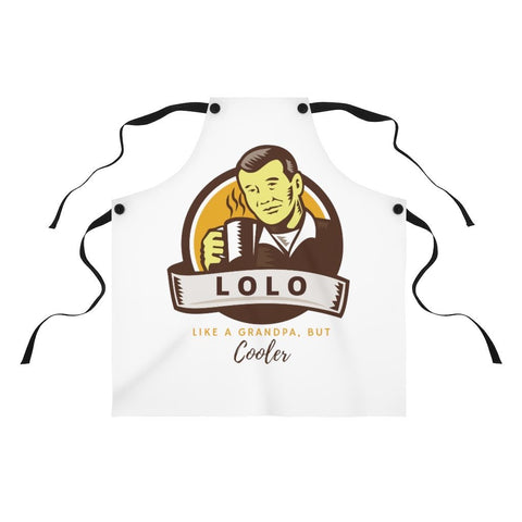 Lolo... Like A Grandpa, But Cooler - Apron Accessories